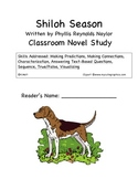 Shiloh Season Novel Study