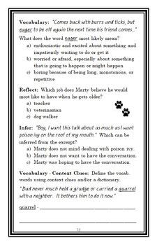 Shiloh Season (Phyllis Reynolds Naylor) Novel Study / Comprehension  (31 pages)