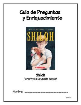 Shiloh (Spanish Novel Study)