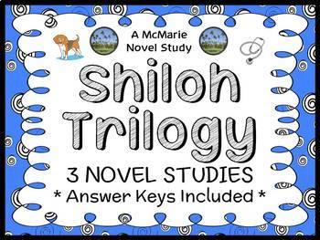 Shiloh Trilogy (Phyllis Reynolds Naylor) 3 Novel Studies (103 pages)