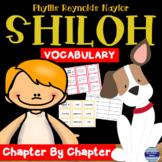 Shiloh Novel Study: Vocabulary