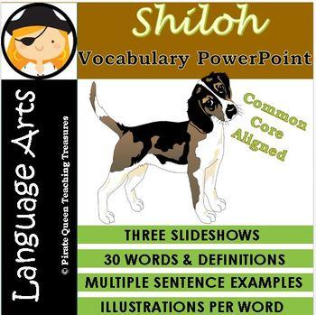Shiloh Vocabulary PowerPoint