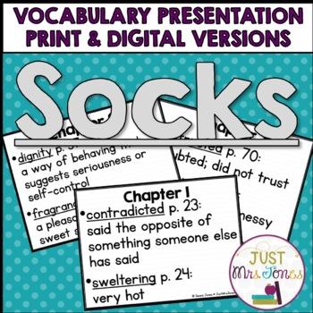 Socks Vocabulary Presentation