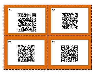 """Shiloh"" Vocabulary QR Code Task Cards Treasures Reading Series 5th Grade"