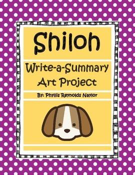 Shiloh Write-a-Summary Art Project