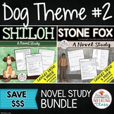 Shiloh and Stone Fox: Dog Theme Novel Studies Distance Learning
