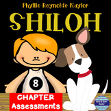 Shiloh by Phyllis Reynolds Raylor 8 Chapter Assessments
