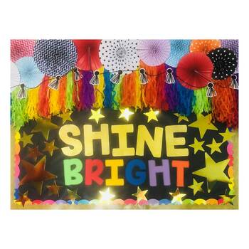 Shine Bright Bulletin Board Letters