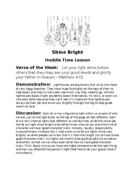 Shine Bright Huddle Time