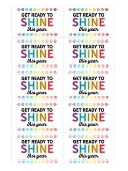 Shine Glowstick Tag