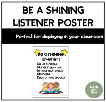 Shining Listener Poster