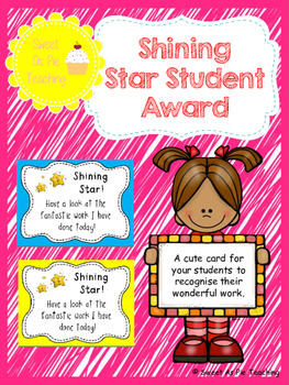 Shining Star Award