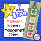 Shining Star Behavior Charts, Calendars & Rewards - EDITABLE