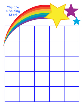 Shining Star Compliment Card for Student Signatures