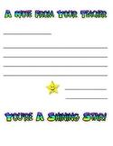 Shining Star Teacher Stationery