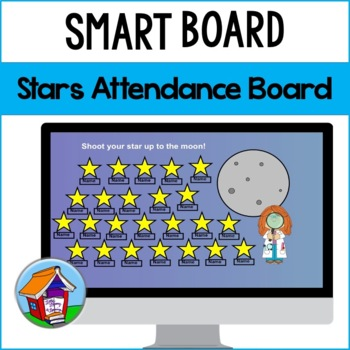 Shining Stars Attendance Board