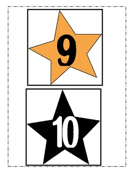 Shinning Star Growing Number Line