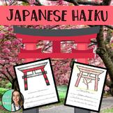 Shinto - Japanese Haiku - ELA & Social Studies - Cross Cur