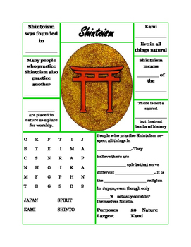 Religion: Shintoism