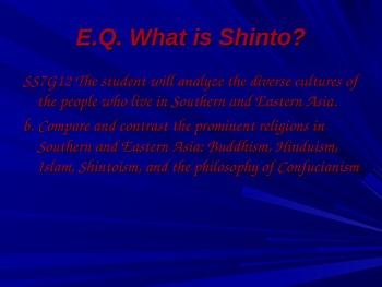 Shintoism and Its Influence on History