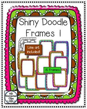Shiny Doodle Frames 1