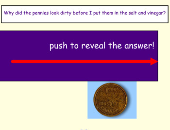 Shiny Penny Experiment Science SmartBoard Lesson Primary Grades