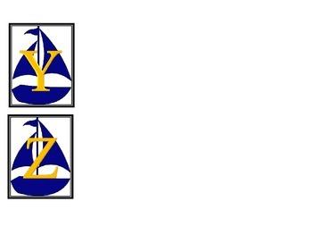Ship Alphabet