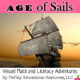 Ship Vessel Math & Literacy Nautical Adventures Unit Age of Sails