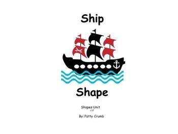 Ship Shape - A book about shapes