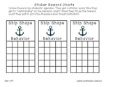 Ship Shape Behavior