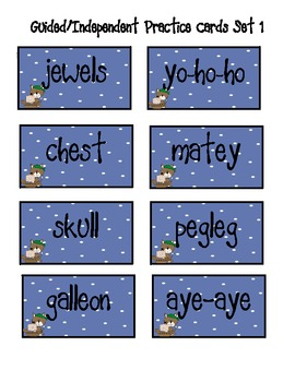 Pirate Themed Alphabetical Order (To the 1st and 2nd Letter)