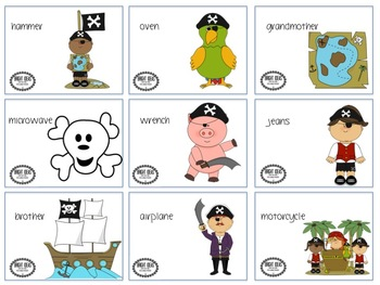 Ship-Wrecked Pirates: A Language Activity
