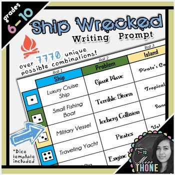 Ship Wrecked Writing Prompt
