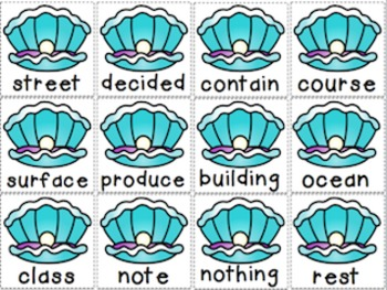Ship Wrecked Sight Words-The full 1,000 Fry words BUNDLE!!