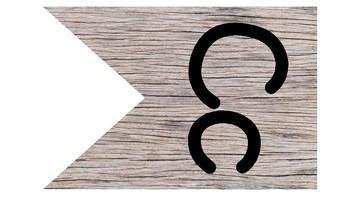 Shiplap Alphabet Pennant Banner