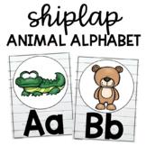 Shiplap Animal Alphabet