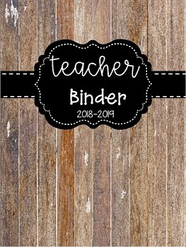 Shiplap Binder Covers