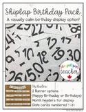 Shiplap Birthday Pack