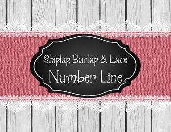 Shiplap, Burlap, & Lace Number Line