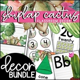 Shiplap Cactus Classroom Decor Theme