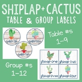 Shiplap + Cactus Table and Group Labels