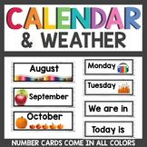 Farmhouse Classroom decor Calendar and Weather Set