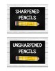Shiplap & Chalkboard Pencil Bucket Labels