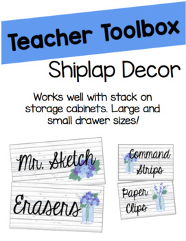 Growing Shiplap Classroom Decor Bundle