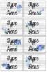 Shiplap Classroom Labels (Editable)