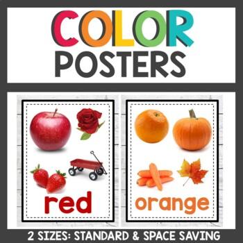 Farmhouse Class Decor Color Posters