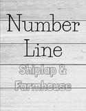 Shiplap Decor Number Line 1-120!
