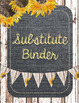 Shiplap & Denim Binder Covers and Spines {Editable} - Shabby Chic & Farmhouse