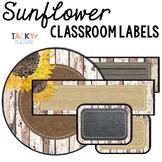 Shiplap & Denim Classroom & Table Labels {Editable} - Shab