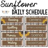 Shiplap & Denim Daily Schedule Cards {Editable} - Shabby C